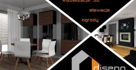 Projektowanie, aranżacja, architekt wnętrz i elewacji