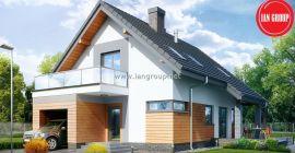 Dom wolnostojący Kielnarowa 147,81m2 stan surowy zamknięty
