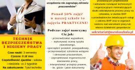 Technik Bezpieczeństwa i Higieny Pracy!