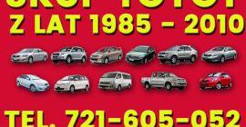 Kupię, Skup Aut Toyota Carina,Avensis,Corolla i inne Rzeszów