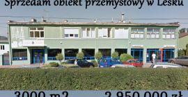 Sprzedam obiekt przemysłowy w Lesku! Świetna okazja!